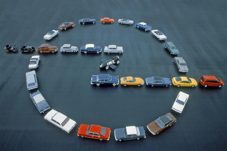 Opel-Firmenlogo