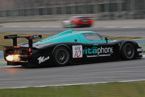 FIA GT-Meisterschaft 2008, Maserati C12, Fahrer: Michael Bartels und Andrea Bertolini