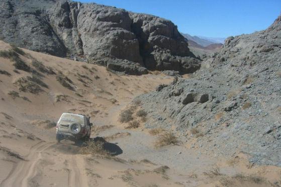 Das Dach der Dakar 2009: Die Anden werden in 4600 Meter Höhe überquert.