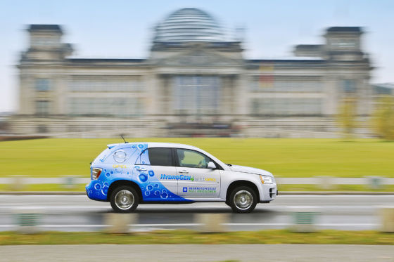 Neun Firmen nutzen den HydroGen4 in Berlin. Nicht zuletzt, weil es dort mehrere Wasserstoff-Tankstellen gibt.
