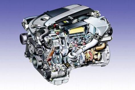 Mercedes V12-Motor