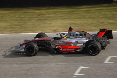 McLaren-Mercedes MP4-23, Rollout Januar 2007