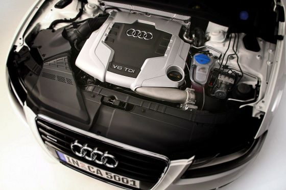 Audi A5 Cabrio, Motor