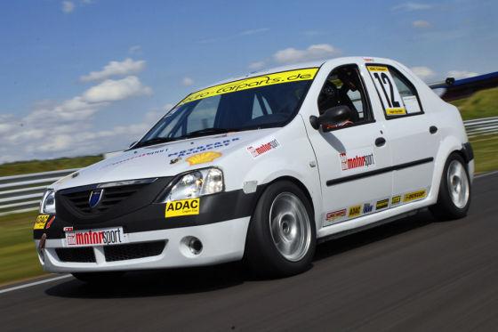 Tracktest Dacia Logan Cup