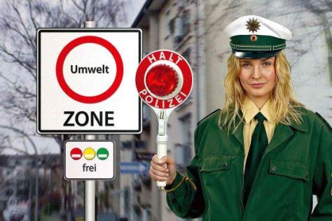 Umweltzone Polizei