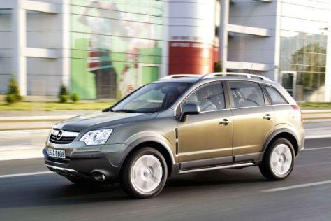 Opel Antara mit Frontantrieb