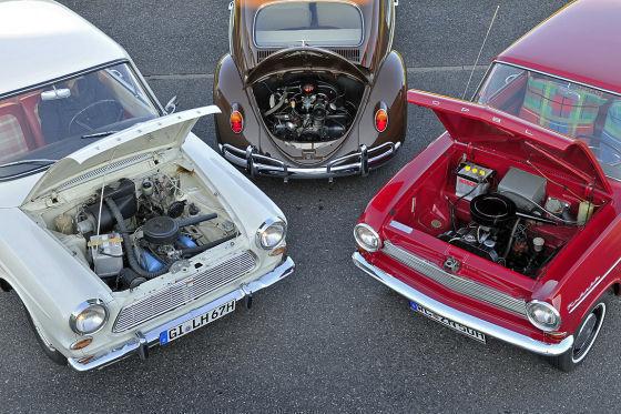 VW Käfer 1200 Opel Kadett A Ford Taunus 12M