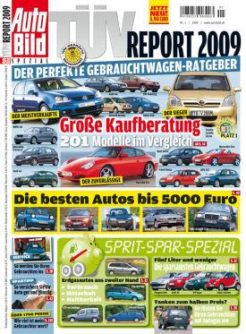 Im AUTO BILD TÜV-Report 2009 werden alle Schwächen der 201 meistverkauften Autos Deutschlands aufgedeckt.