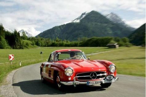 Hohe Berge und schöne Autos: Kitzbühler Alpenrallye