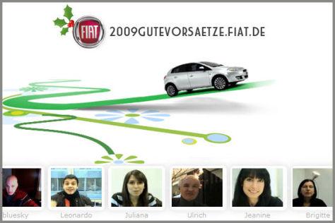 Fiat Gute Vorsätze 2009