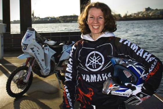 Rallye Dakar 2009 Christina Meier Yamaha