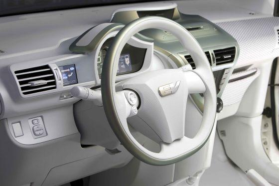 Studie Toyota FT-EV, Innenraum