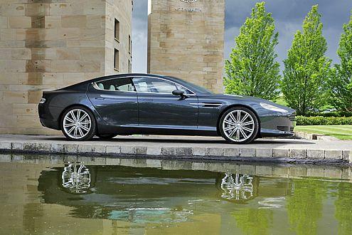Lob muß erlaubt sein: Mit dem Rapide hat Aston Martin sich selbst übertroffen.