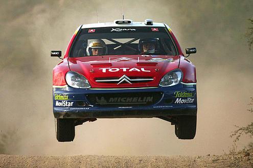 Rallye Monte Carlo 2005, Sébastian Loeb, Citroen Xsara
