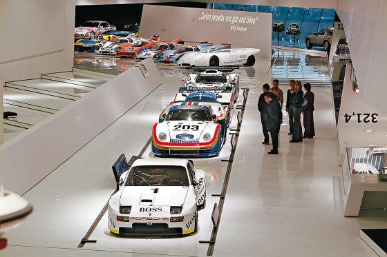 Das Porsche-Museum wird am 31. Januar eröffnet.