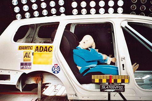 Kindersitz im VW Passat