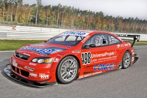 Tracktest: Opel Astra V8 Coupé DTM Berg-Renner - autobild.de