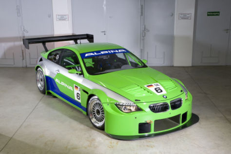 bmw alpina b6 gt3 alpina feiert motorsport comeback. Black Bedroom Furniture Sets. Home Design Ideas