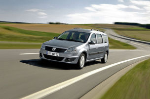 �rger mit Autogas-Dacia