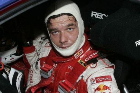 Sébastien Loeb gab in Norwegen zumindest im Training das Tempo vor