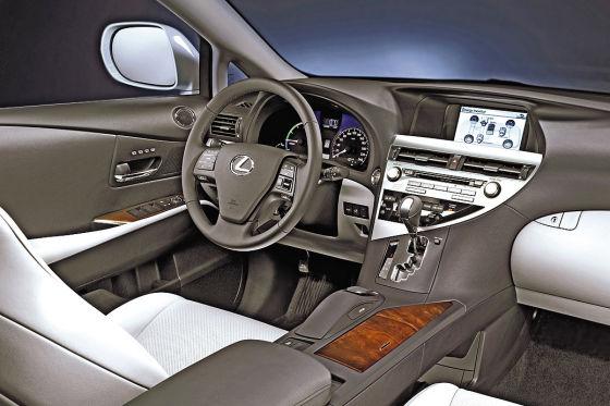 Cockpit Lexus RX 450h