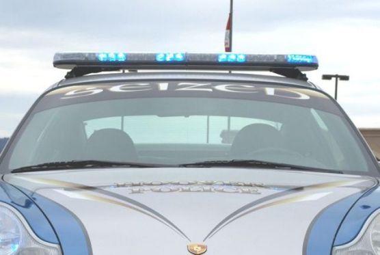 Polizei-Porsche in Hoover