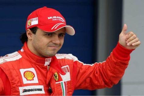 Fühlt sich nicht mehr als Nummer zwei im Ferrari-Team: Felipe Massa