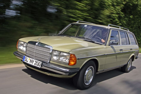 Alter Mercedes Kombi