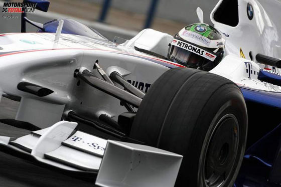 Formel-1-Tests 2009, Nick Heidfeld BMW-Sauber