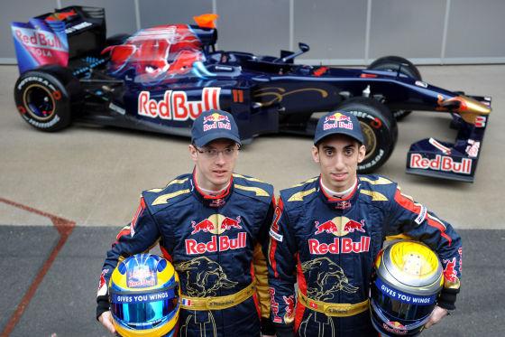 Formel-1-Saison 2009 Präsentation des Toro Rosso STR-04