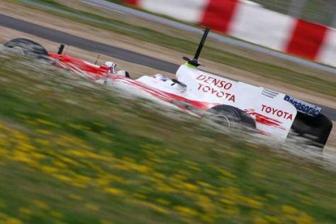 Führt der Weg von toyota mit dem neuen TF109 tatsächlich steil nach oben?