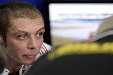 Valentino Rossi ist mit der derzeitigen Lage in der Moto GP nicht zufrieden