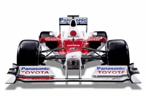 Der TF109 muss mit Erfolgen das Engagement von Toyota festigen