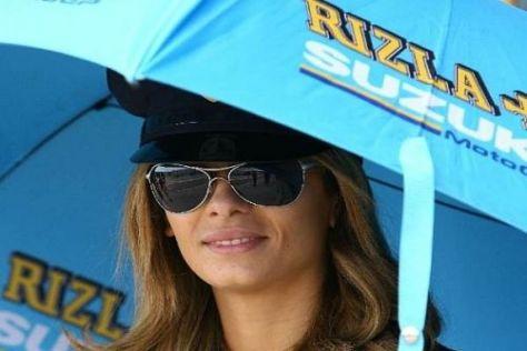 Wenn es mal wieder heiß wird: Rizla spedniert auch 2009 Sonnenschirme