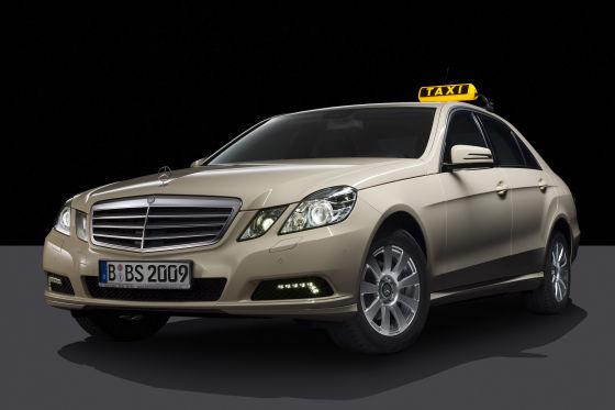 Mercedes-Benz E-Klasse als Taxi (2009)
