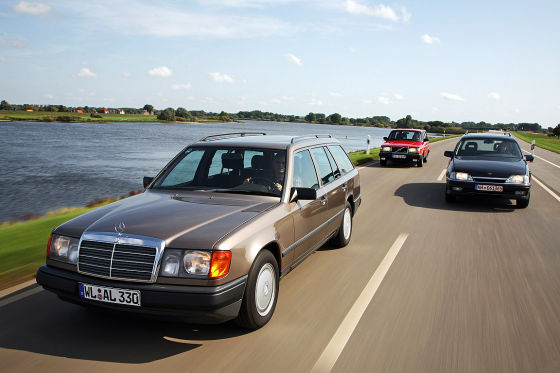 Coole Youngtimer-Kombis im Test