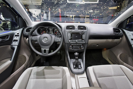 VW Golf VI BlueMotion