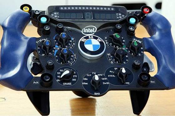 Formel–1–Saison 2009, Team BMW Sauber Lenkrad F1.09