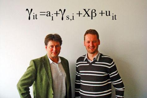 Reiner Eichenberger (links), David Stadelmann