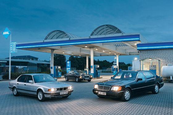 Vergleichstest: Zwölfzylinder-Limousinen