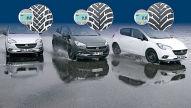Ganzjahresreifen: Reifenprofiltiefen im Test
