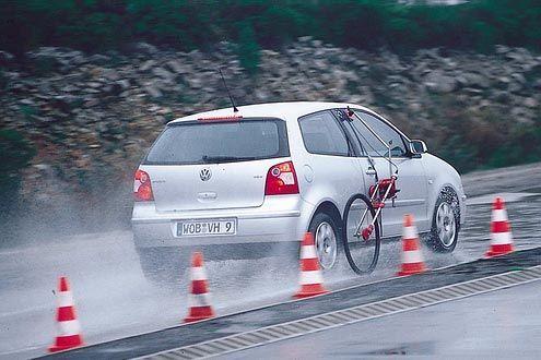 Bremstest VW Polo