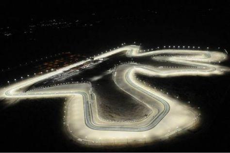3.600 Lampen sorgen dafür, dass es in Katar zum Rennen wieder taghell wird