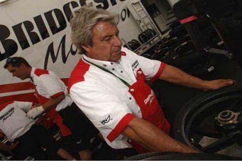 Die Bridgestone-Techniker haben am Rennwochenende keine Konkurrenz