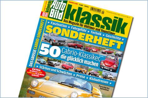 AUTO BILD KLASSIK Sonderheft Cabrio