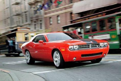 drei muscle-cars im test - chevrolet camaro, dodge challenger und