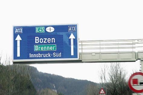Mautfreie Alpen-Strecken