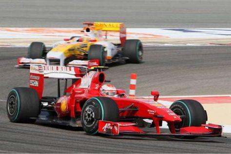 Räikkönen rettete Ferrari mit seinem sechsten Rang vor der Total-Katastrophe