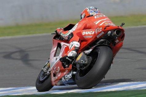 Casey Stoner möchte in Jerez endlich einmal auf das Podest kommen