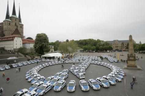161 Opel Corsa für Thüringens Polizei